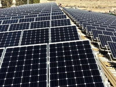 Medium size solar energy system – Kibbutz Revivim