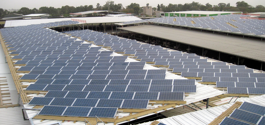 Medium size solar energy system – Kibbutz Chafetz Chaim
