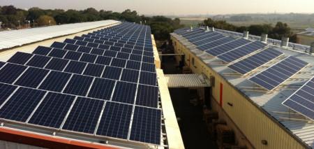Medium size solar energy system – Kibbutz Yakum