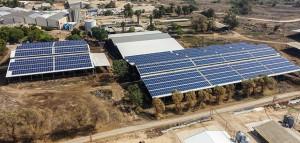 Gevim Solar Plant 636 KWP
