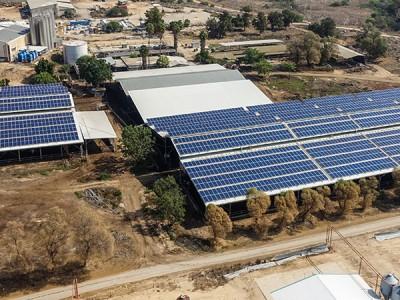 Net Metering Solar Energy System – Gevim – 636 KWP
