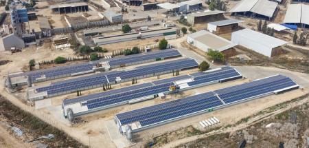 Net Metering Solar Energy System – Meshuor Yizhak – 1,100 KWP