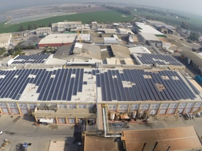 Net Metering Solar Energy System – Of Tov Factory – 604 KWP