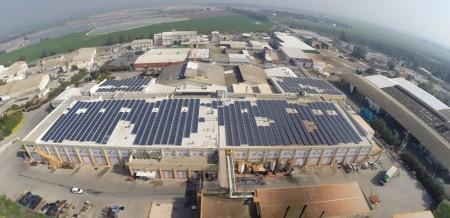 Net Metering Solar Energy System – Of Tov Factory – 604 KWP