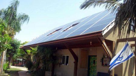 Home Solar System – Nir Banim – 15 KW