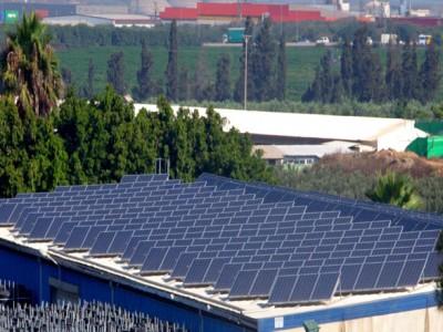 Medium size solar energy system – Moshav Bnei Darom