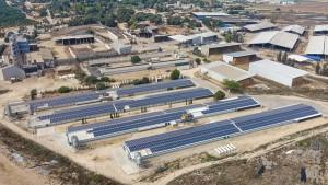 Meshot Yizhak Solar Energy Plant 1,100 KWP