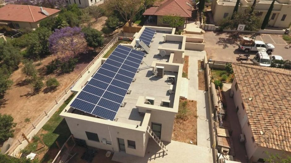 Home Solar System – Beer Tuvia – 9.6 KW