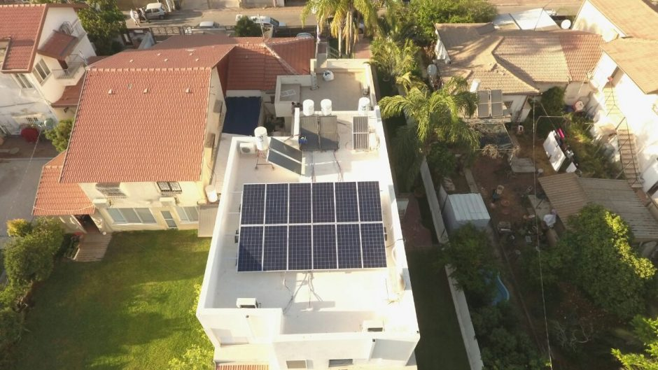 Home Solar System – Rehovot – 4 KW